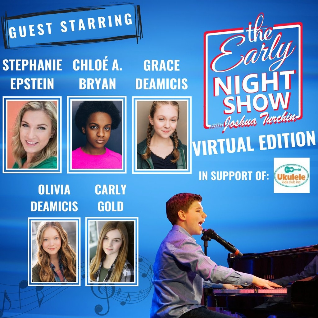 The Early Night Show - S4 Ep3 - Ukulele Kids Club Celebration with Chloé A. Bryan, Stephanie Epstein, Grace DeAmicis, Olivia DeAmicis, Carly Gold