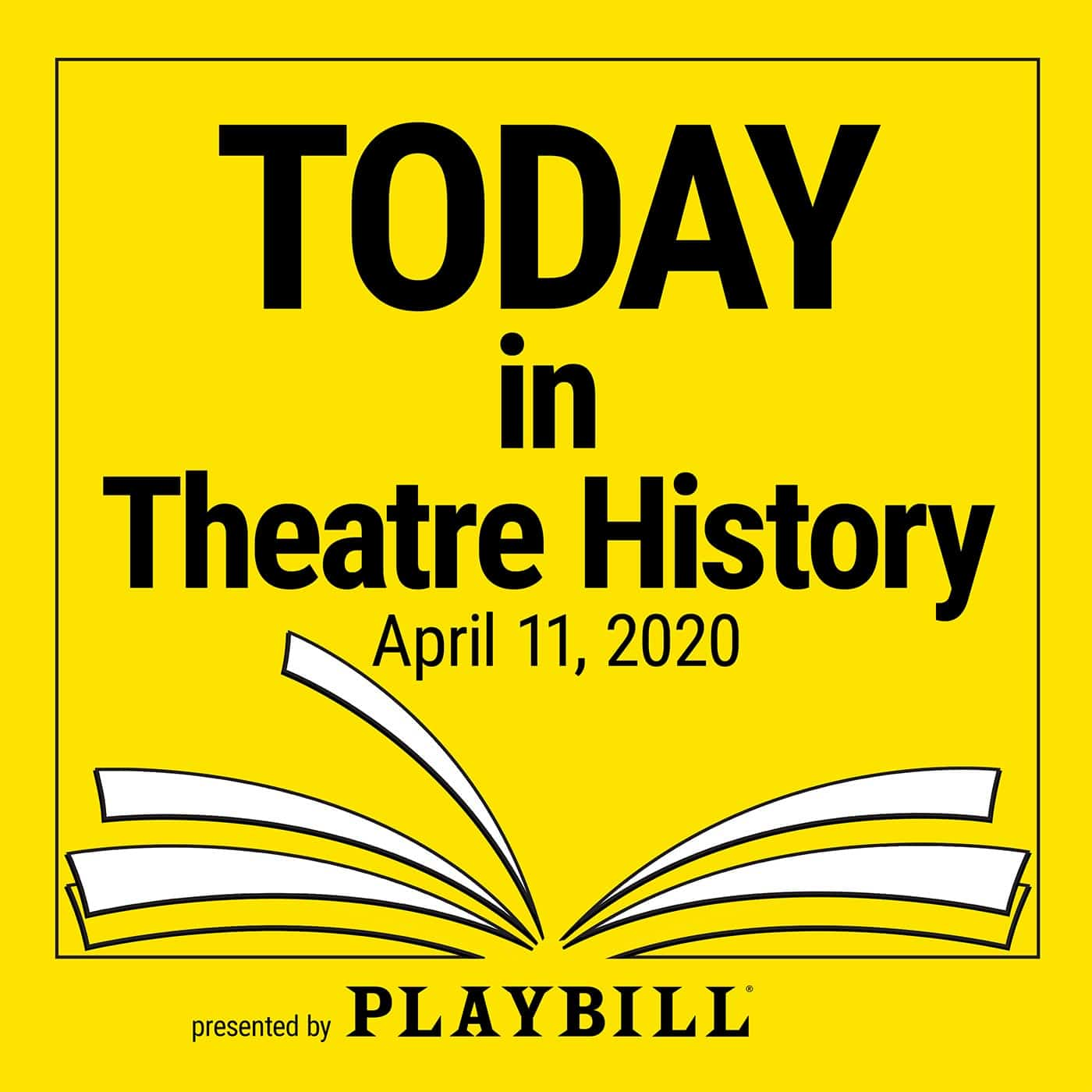 Today in Theatre History - April 11, 2020: Pygmalion and Miss Saigon premiere, Joel Grey celebrates his birthday, and more.