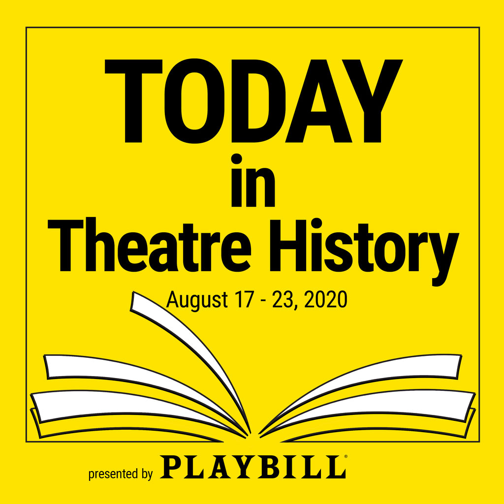 "Today in Theatre History - August 17–23, 2020: Broadway audiences hear ""I Am What I Am"""