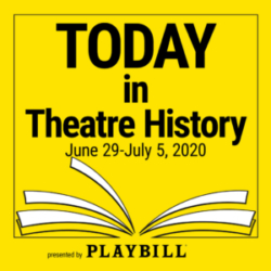 Today in Theatre History - June 29–July 5, 2020: The Alvin Theatre gets a new name, Marvin's Room debuts on Broadway, and God