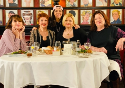 Donna McKechnie, Dori Berinstein, Beth Leavel, Theresa Rebeck, and Mary-Mitchell Campbell