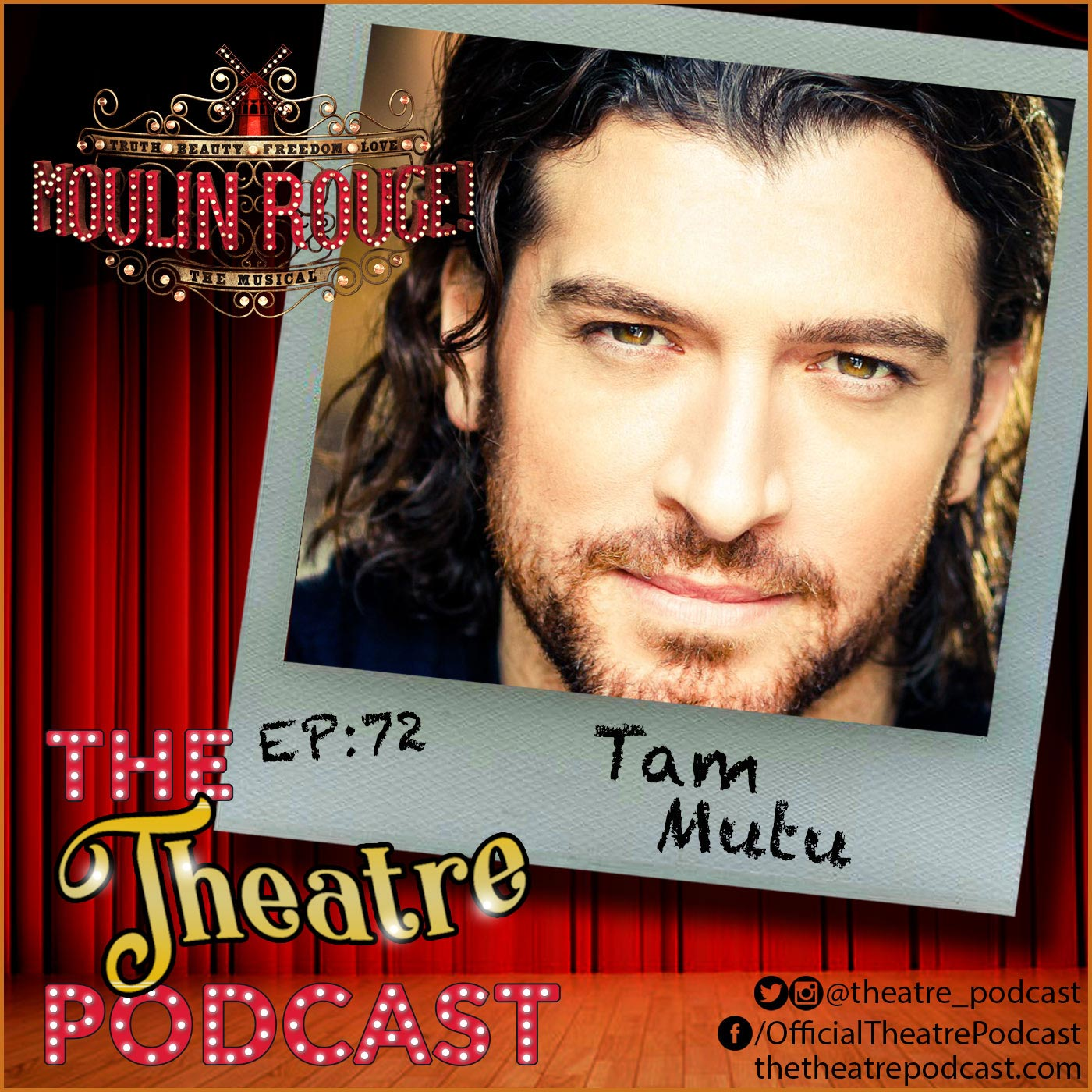 the Theatre Podcast Episode 72 Tam Mutu