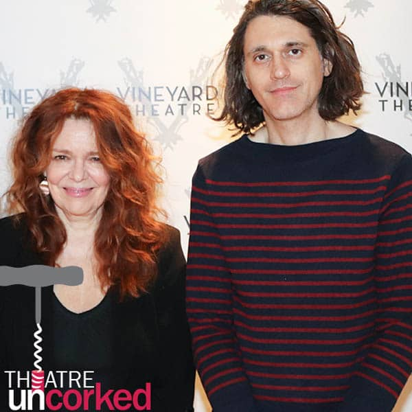 Theatre Uncorked Podcast Episode 13 Lucas Hnath and Deirdre O'Connell