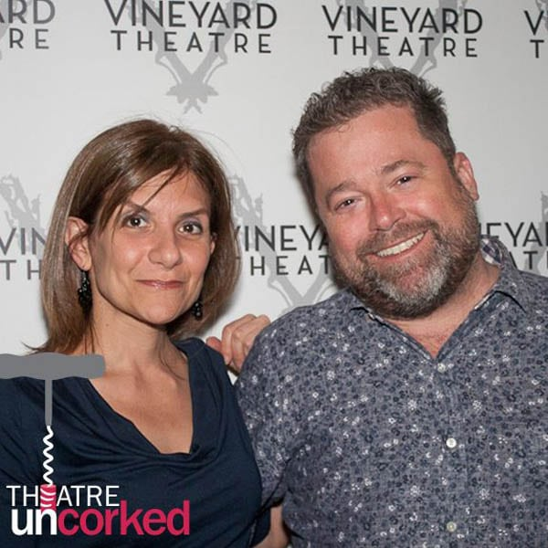 Theatre Uncorked Podcast Episode 4 Gina Gionfriddo and Peter DuBois