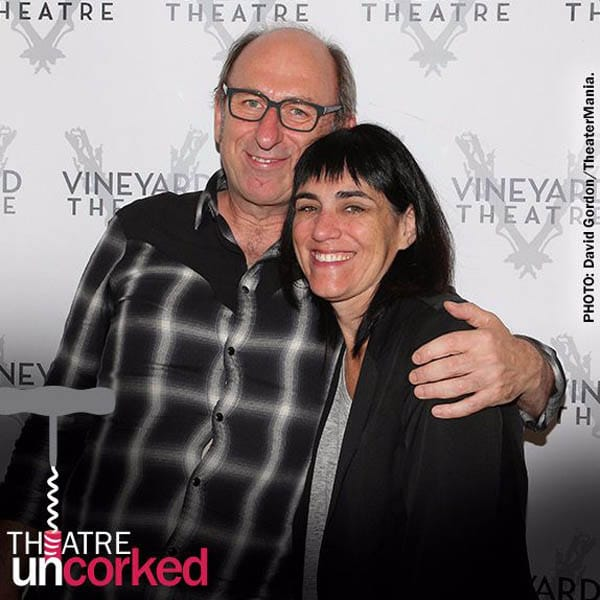 Theatre Uncorked Podcast Episode 5 David Cale and Leigh Silverman