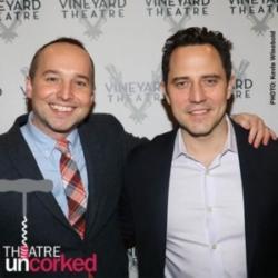Theatre Uncorked Podcast Episode 6 Jordan Harrison and Oliver Butler