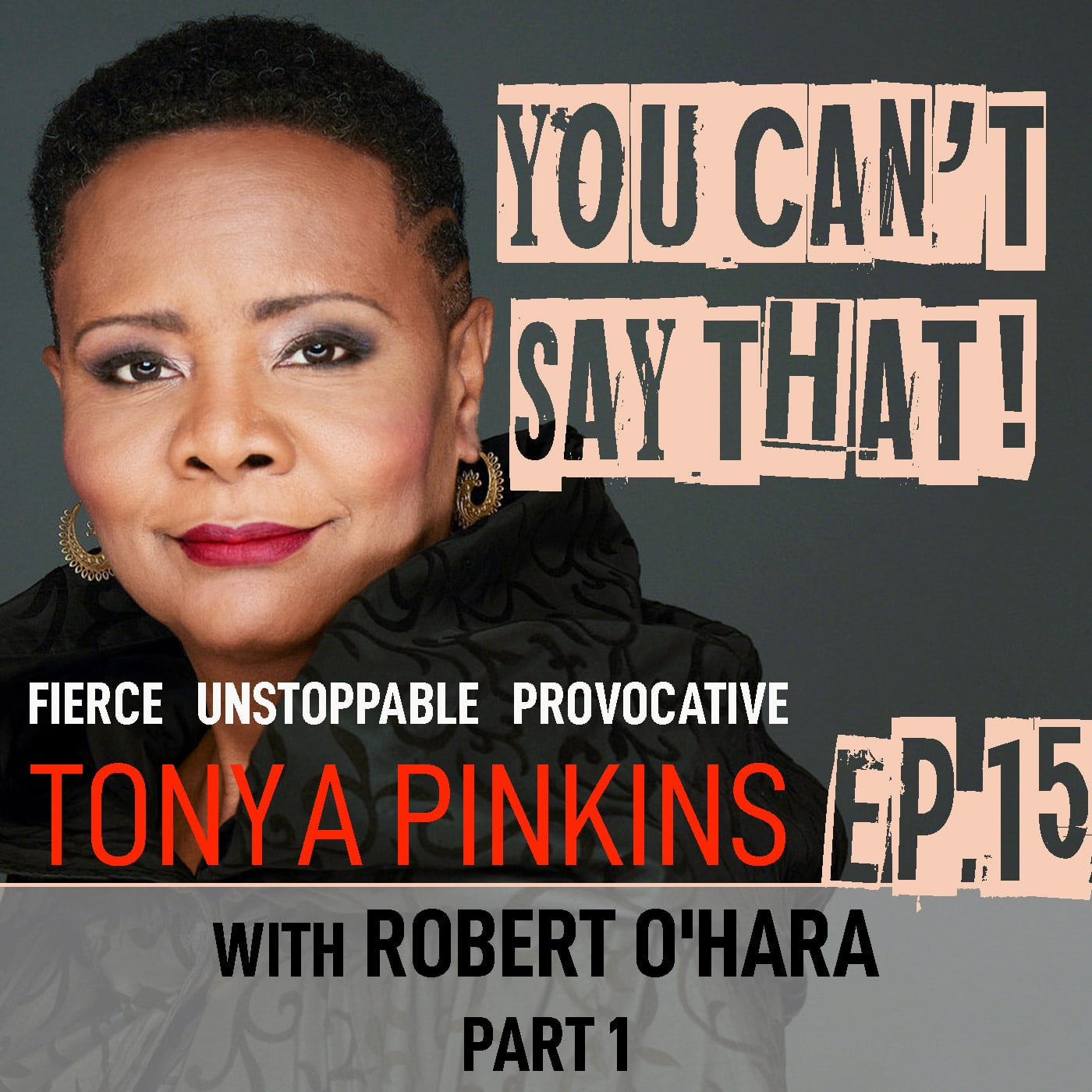 you Can't Say That Tonya Pinkins Episode 15 Robert O'Hara Part 1