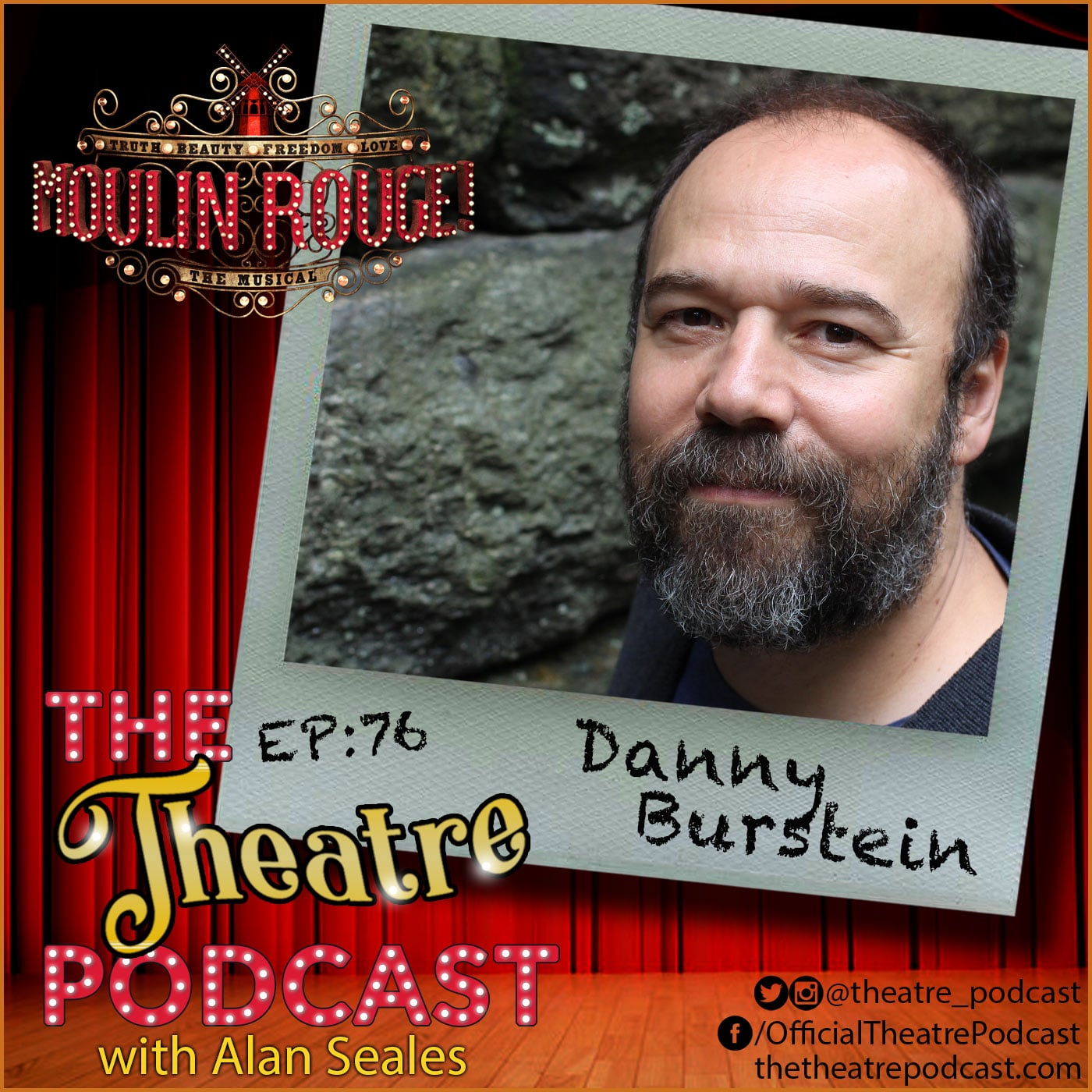 The Theatre Podcast Episode 76 Danny Burstein
